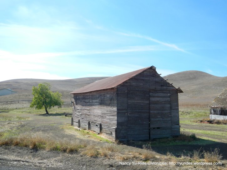 old barn off Collier Canyon