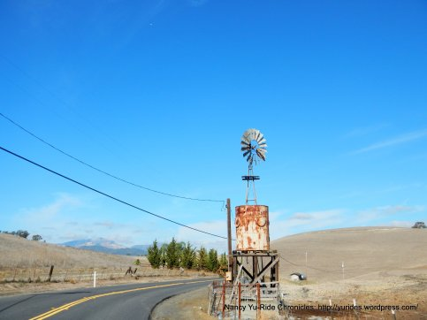 old windmill and water tower