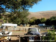 one of several horse ranches