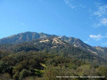 view of Mt Diablo