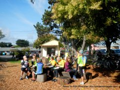 Lunch stop-Pt Reyes Station