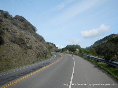 climb up spillway-Pt Reyes Petaluma Rd