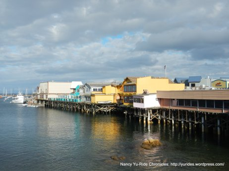 view of the wharf