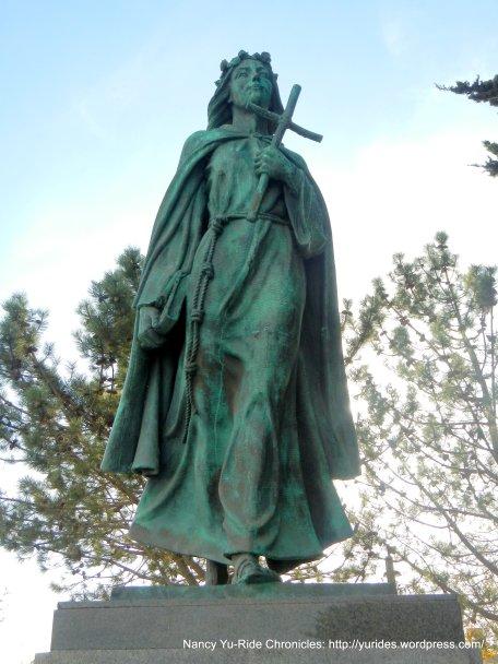 Saint Rosalia-Patron Saint of the Italian fisherman in Monterey