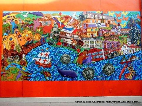 Museum of Monterey outdoor mural