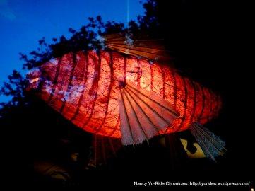 fish paper lantern