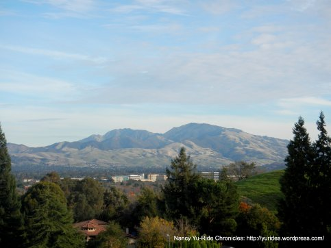view of Mt Diablo from Pleasant Hill Point