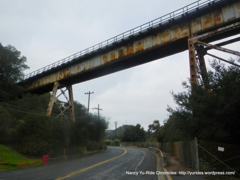 Muir Trestle over Franklin Canyon Rd