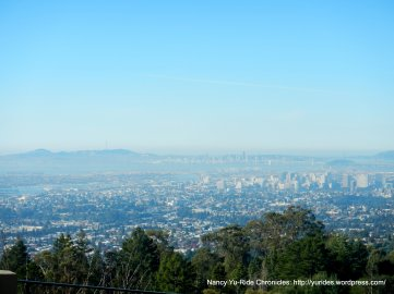view of Bay Area from Joaquin Miller/Skyline