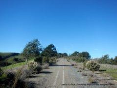 steep climb up Mulholland Ridge