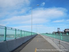 crossing over Benicia-Martinez Bridge-heading north