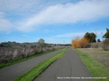 ped/bike path-Benicia State Rec Area