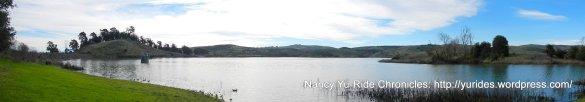 panoramic view of Lake Herman