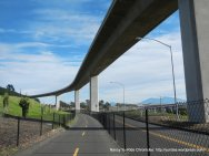 ped/bike path-brdige crossing