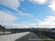 south end of ped/bike path-Martinez