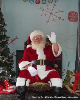 Santa on Main St-Martinez