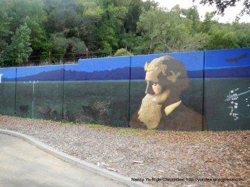 John Muir murals-Alhambra Ave