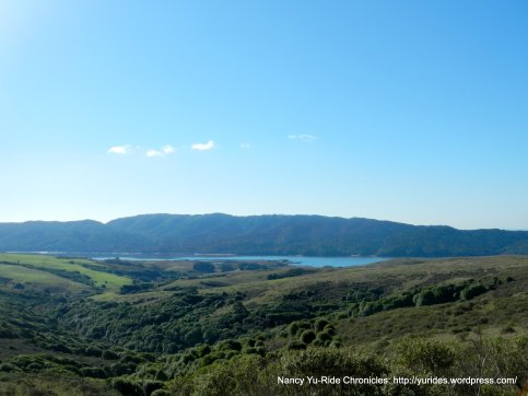 gorgeous view of Tomales Bay