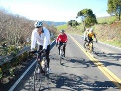Bruce, Holly, Jaz & Mark-climb up to Pt Reyes Winery