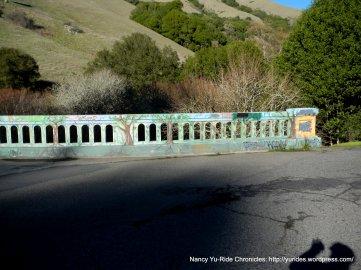 colored bridge-Pt Reyes Petaluma Rd