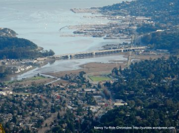 view of Richardson Bay & Bridge