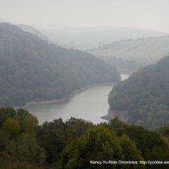 view of San Leandro Reservoir