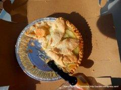 Farmers Market apple pie