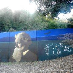 John Muir mural on Alhambra Ave