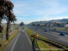 crossing I-80 on Suisun Valley Rd