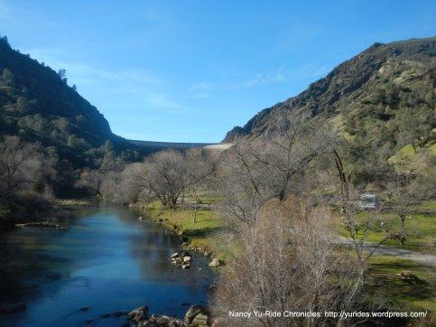 Putah Creek crossing on Hwy 128