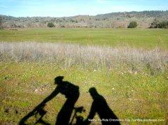 riding through the valley