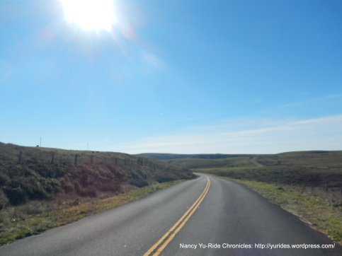 miles and miles of road