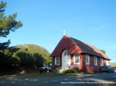 little red St Helen Curch