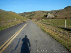 towards Walker Creek