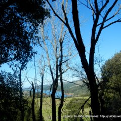 peek of San Pablo Reservoir
