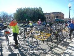 bike rakcs galore