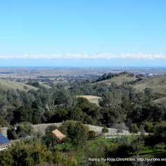 stunning views of Sacramento valley and the surrounding mountains