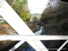 crossing over Napa River