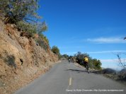 climb up Summit Rd