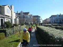 ped/bike path along waterfront
