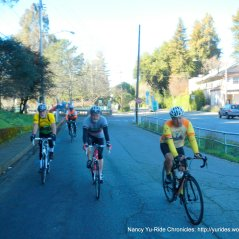 Bike route-San Anselmo