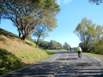 climb up Camino Alto