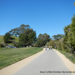 Tiburon Linear Park path
