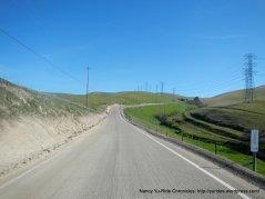 climb up Patterson Pass
