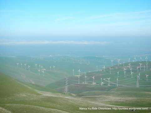 windmills! views from the summit