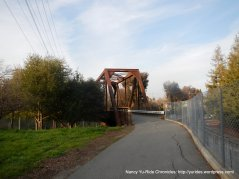 Iron Horse Trail-bridge crossing over Ygnacio