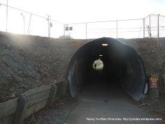 Contra Costa trail tunnel