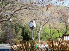 Clayton town clock