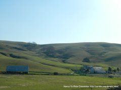 farm house, barn and ranch