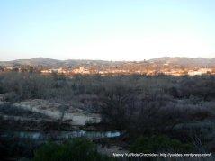 sunrise over Paso Robles